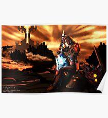 Warrior in the Firelands Poster