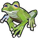 tiny tree frog by Ruud van Koningsbrugge