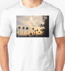 WHITE STREAKS IN A BLUE SKY T-Shirt