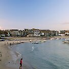 St Ives Harbour at dusk, Cornwall by Lissywitch