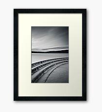 Fewston Monochrome Framed Print