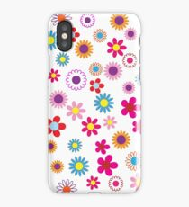Pretty and Bright Vintage Background iPhone Case/Skin