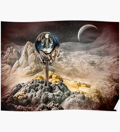 Alien Artifact Poster