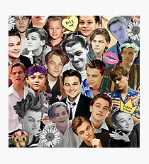 Leonardo DiCaprio Collage Photographic Print