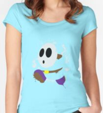 Splattery Shy Guy Style 2 Women's Fitted Scoop T-Shirt