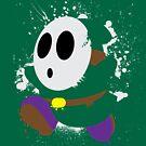 Splattery Shy Guy Style 2 by thedailyrobot