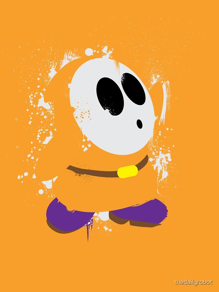 Splattery Shy Guy Style 3 by thedailyrobot
