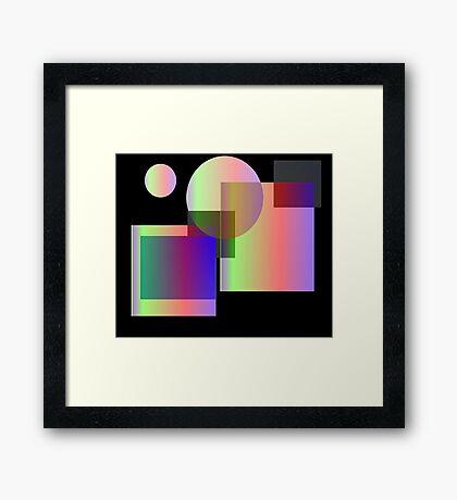 Almost Lucid Framed Print