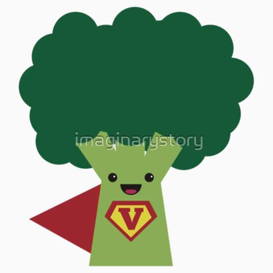 Quot Super Broccoli Quot Stickers By Imaginarystory Redbubble