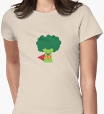Super Broccoli Womens Fitted T-Shirt