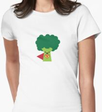 Super Broccoli Women's Fitted T-Shirt