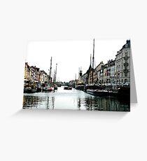 nyhavn II Greeting Card