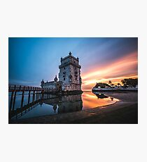 Belém Tower, Lisboa, Portugal Photographic Print