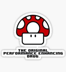 Performance Mushrooms Sticker