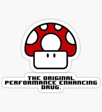 Performance Mushrooms Sticker
