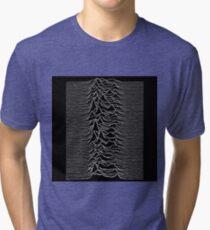 Music band waves - Black&White Tri-blend T-Shirt