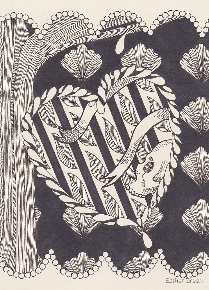 Evergreen (b/w version) by Esther Green