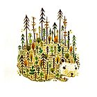 Hedgehog  by ghostpuff