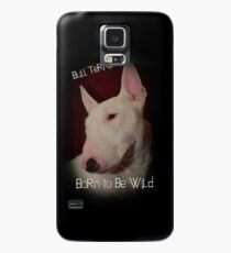 Bull Terrier born to be wild Case/Skin for Samsung Galaxy