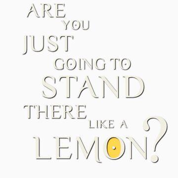 Like a lemon white. by adanacog