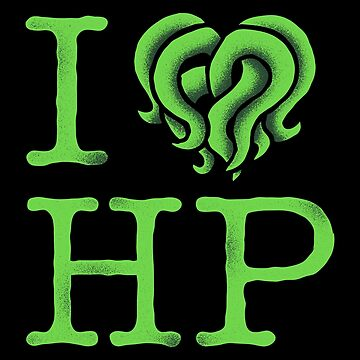 I HEART HP LOVECRAFT by Brandon89