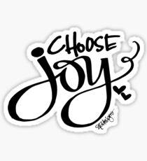 Choose Joy!  Sticker