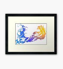 Final Fantasy 10 logo X Framed Print