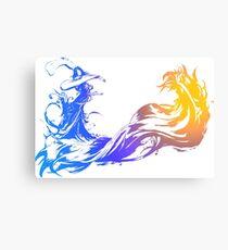 Final Fantasy 10 logo X Canvas Print