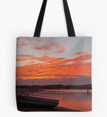 Sunrise Narrabeen Lake Tote Bag