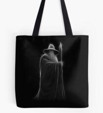 Neon Wizard Tote Bag