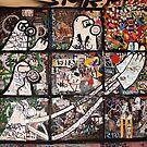 Nine Panes of Street Art by John Sharp