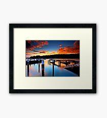 Balmoral Sunrise Framed Print
