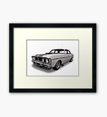 Ford - XY GT Falcon Framed Print