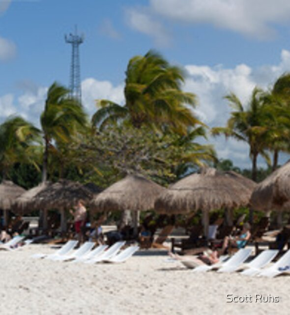 Cozumel, Mexico Panorama by Scott Ruhs