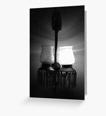 One On One Off Greeting Card