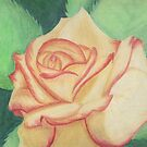 Two-tone Rose by Rhonda Blais