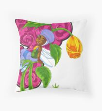 KINFfolkes-SPRING ROSE Throw Pillow