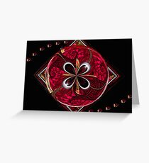 Splits-Ngon #6: Hail to the Redskins   (UF0606) Greeting Card