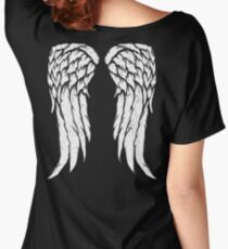 Daryl Dixon Wings - Zombie Women's Relaxed Fit T-Shirt