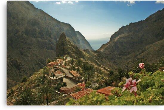 Masca - A Village in theMountains by David Alexander Elder