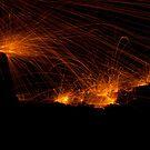 raining fire by Ben Rees