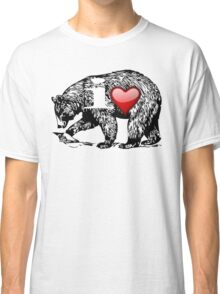 I LOVE BEAR Classic T-Shirt