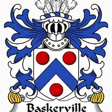 Baskerville Coat of Arms by mbaskerville