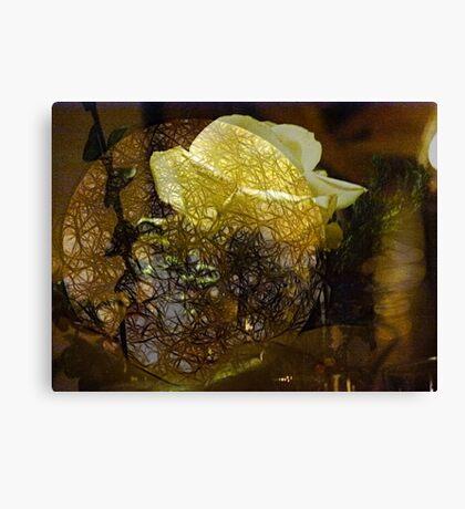 The Secret Rose Canvas Print