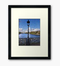 Pont des Arts Bridge  Framed Print