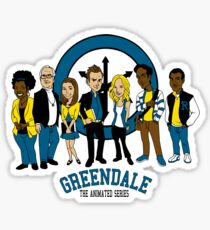 Greendale TAS Sticker