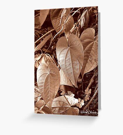 WILD Vine Greeting Card