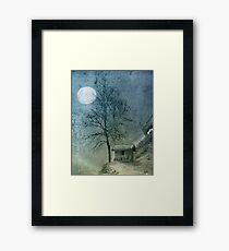 China Moon Framed Print