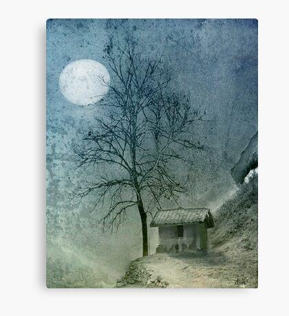 China Moon Canvas Print