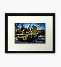 Transformers BumbleBee Framed Print